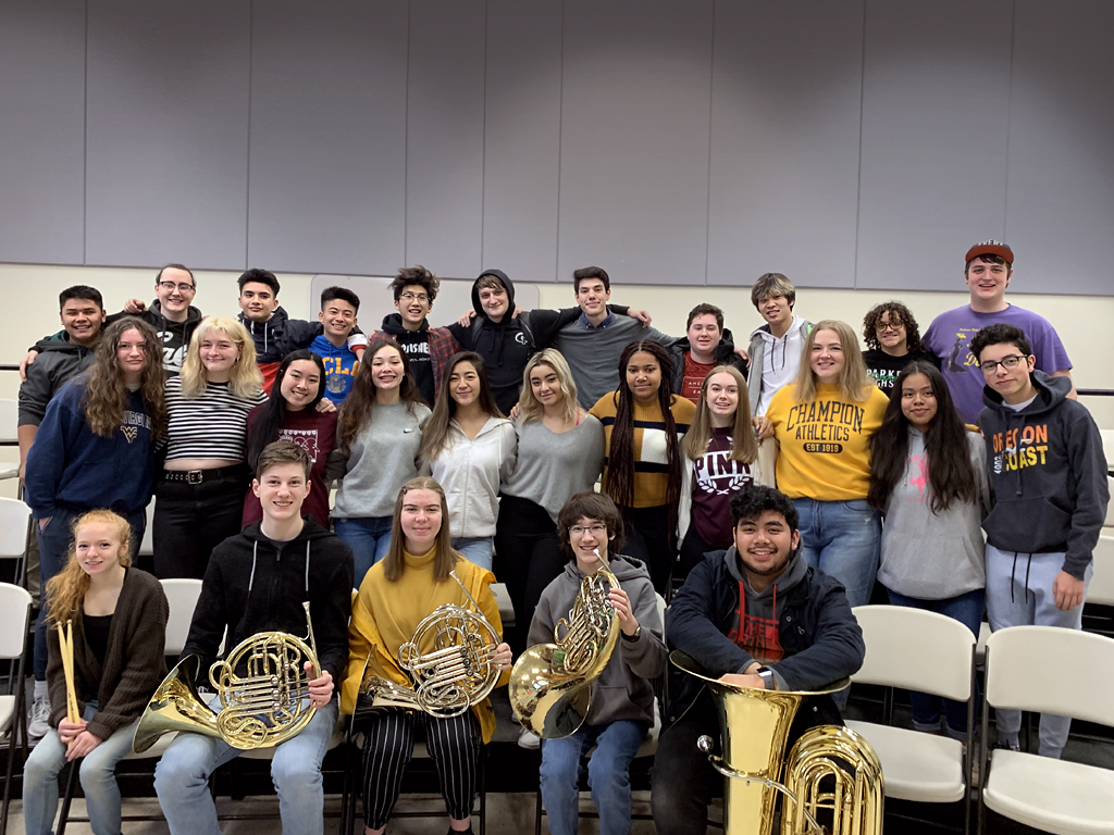Parkrose School District - High School Solo and Ensemble winners